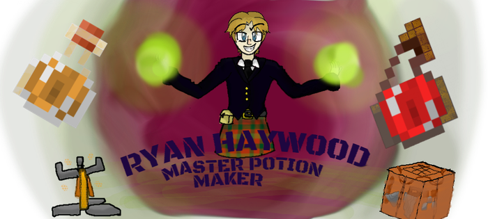Ryan Haywood master potion maker by cutelupe