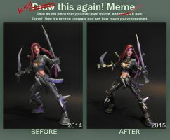 Re-build Meme Katarina by BRSpidey