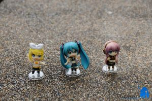 Vocaloid RQ Set Black 1 by ILICarrieDoll