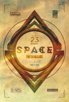 Space Music Flyer by iorkdesign