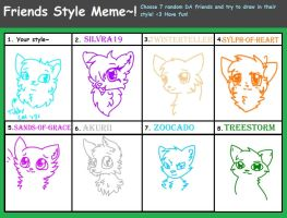 Friends Style Meme by Sketching-Eclipse
