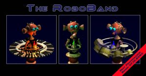 The RoboBand by arteandreas