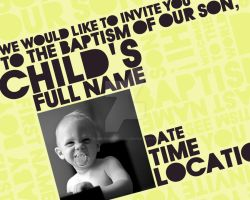 Baptism Design - Yellow Degree by suppressed-desires