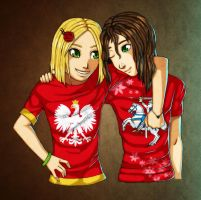 Poland and Liet celebrating... by Swaja