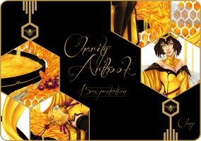 Dame du Miel - Charity Artbook - Preview by Clange-kaze