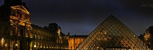 Le musee du Louvre by Lethalxr0se