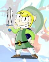 Link Wind Waker redone by MiketheMike