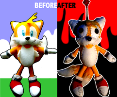 How to treat a Tails Plushie. by lnsector