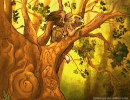 The Gryphon in the Wood by Ginnunga