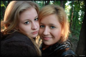 me_and_sister by Permiak