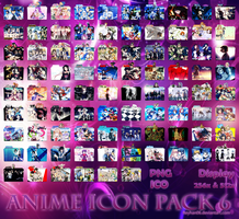 Anime Icon Pack 6 by Reyhan06