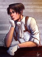 Art Trade: Levi Heichou by ZLynn