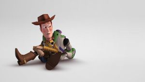 Woody (and Buzz) by Takahiro95