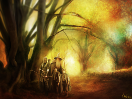 LOTR - Painting  (FULL) by Lasse17