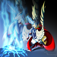 Thor, God of Thunder by TurrKoise