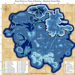 Rune Factory Tides of Destiny Map by Flanqer