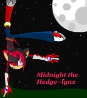 Midnight The Hedge-lynx by SamanthaThePanther