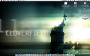 Desktop on MBP by MattZani