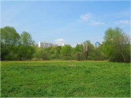 Spring in Moscow by mirator