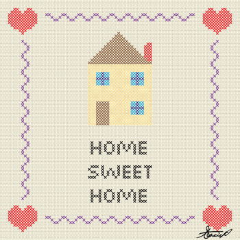 Home Sweet Home by DrawDesign