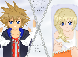 Collab with Youfie : Sora x Namine by dagga19