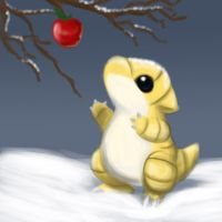 Snowy sandshrew by mg9990