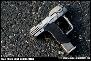 Link's M6D Pistol - HALO - Resin Cast Replica by JohnsonArms