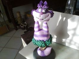 cheshire cat big by whovianSpecter