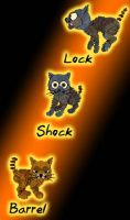 Lock, Shock, Barrel: Petz by blademalfoy