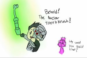 Nuclear Toothbrush by Zats-art