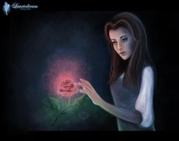 Belle in our world... by Laurine-Tellier