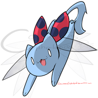 Catbug by CoccineousCephalopod