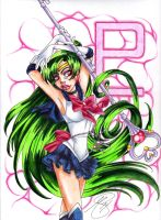 Sailor Pluto Reddit Gift Exchange by PinkPigtails