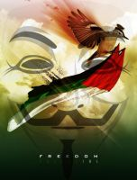 Free Palestine Anonymous #OpIsrael by OpGraffiti
