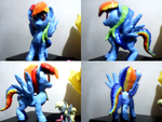 Rainbow Dash escultura by RaptecClawtooth