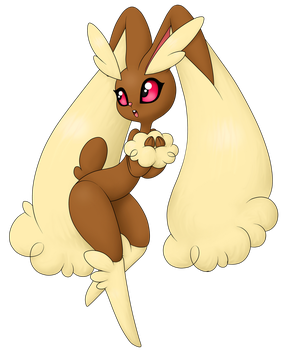 Lopunny by R-Poole