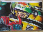 Ayrton Senna by never1233