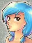 Blue Hair by DestinyBlue