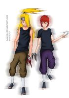 Sasori and Deidara: We're back by SamanthaLi