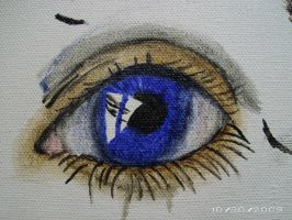 First Oil Eye...IN COLOUR by Jesus-Fishboy