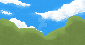 Forest sky thing by MagicalPouchOfMagic