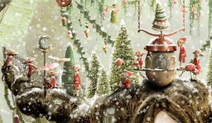 The Christmas Miracle - detail 2 by KingaBritschgi