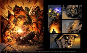 Terminator Genisys Comic - Pages 13-14 by Eeren