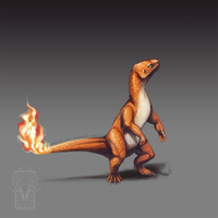 Type Collab: Charmander by ShadeofShinon