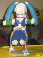 Arcade Sona Doll Comission Almost Done! by Iziume89