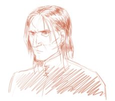 Snape Doodle by Emmanation