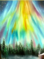 The Northern Lights by serenelittleangel17