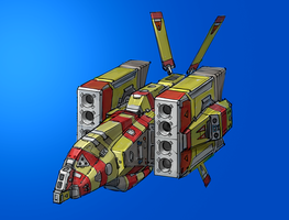 Tiidan Missile Corvette by entroz