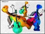 Guitars and Turtles by altergromit