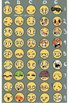 Emoticons of my chars by DarkToDawn